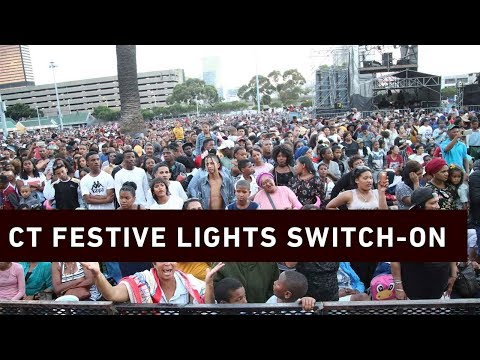 The Festive lights switch-on 2018