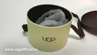 Распаковка и обзор меховых наушников UGG Earmuff Grey