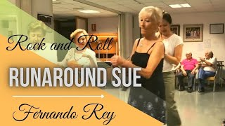 Baile en Linea -  Rock and Roll ( Runaround Sue Version Spanish )