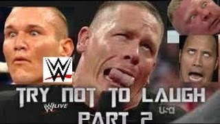 try not to laugh challenge( wwe edition) part 2