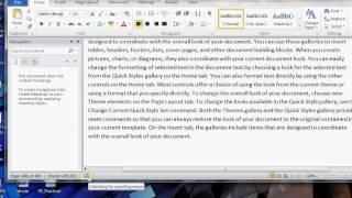 Microsoft Word 2013 Magic Trick