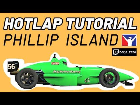 ⭕️SKIP BARBER⭕️ PHILLIP ISLAND (1:47:135) Hotlap    Tutorial IRacing