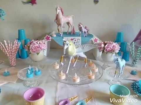 anniversaire licorne 1 youtube. Black Bedroom Furniture Sets. Home Design Ideas