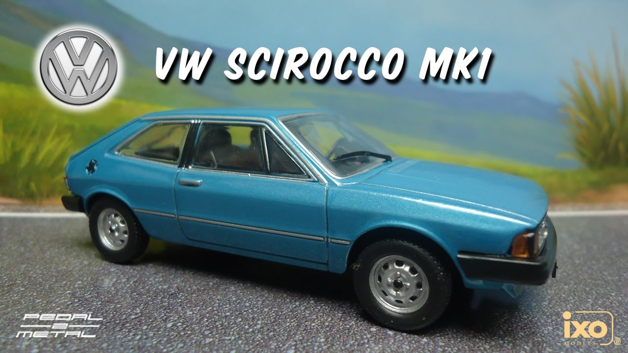 1980 vw scirocco mk1 by ixo review youtube. Black Bedroom Furniture Sets. Home Design Ideas