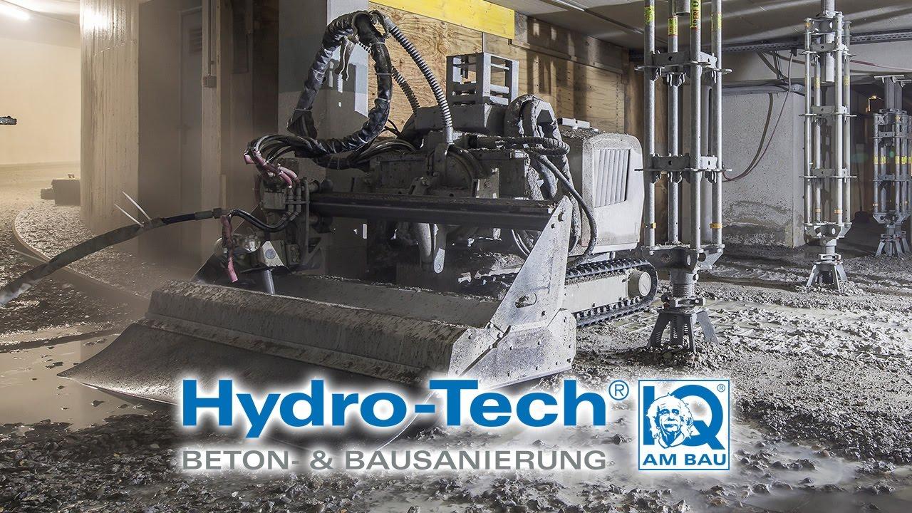 Höchstdruckwasserstrahlen mit Robotern