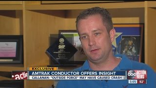 Amtrak conductor has theory about Philadelphia crash