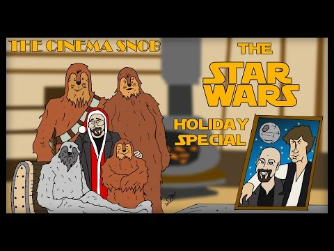 The Cinema Snob: THE STAR WARS HOLIDAY SPECIAL