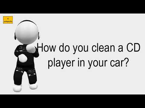 How Do You Clean A CD Player In Your Car?