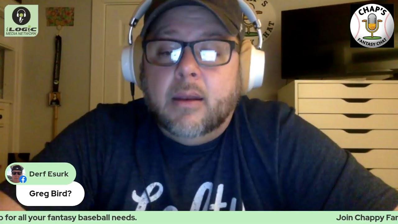 Chap's Fantasy Chat - MLB 2021 - Episode 2