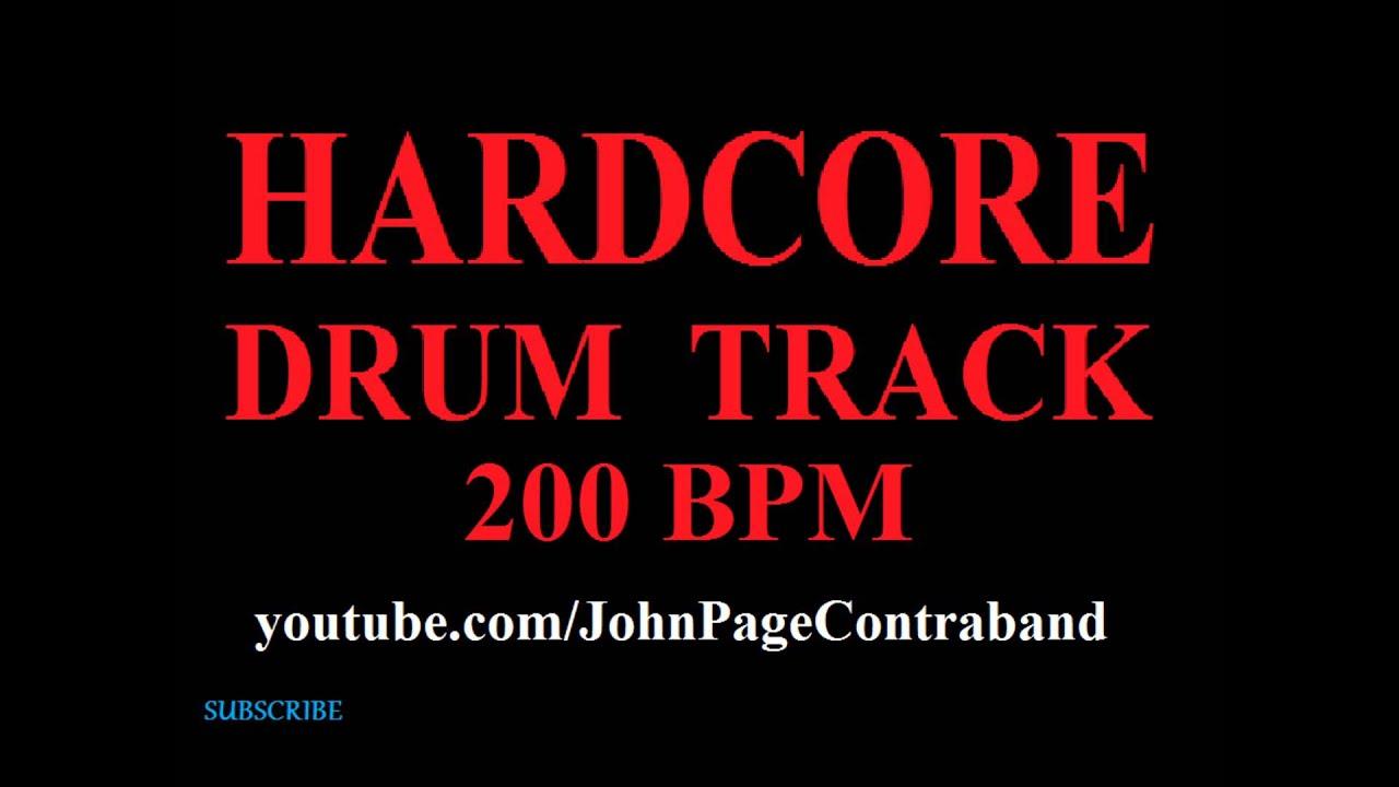 Hardcore Drum Beat 106