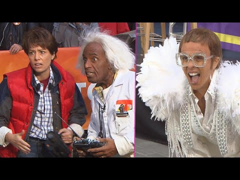 Behind the Scenes as 'Today' Hosts Channel the '80s for Halloween