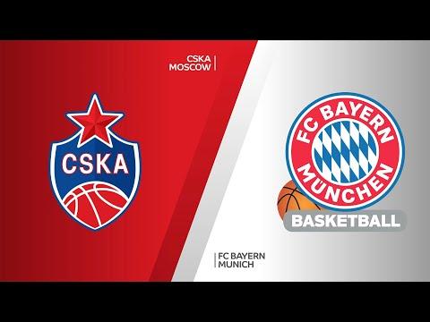 CSKA Moscow - FC Bayern Munich Highlights   Turkish Airlines EuroLeague, RS Round 23