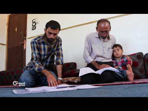 عبد الناصر 54 سنة  يتقدم لامتحان الشهادة الثانوية في الأتارب  - 10:20-2018 / 7 / 7