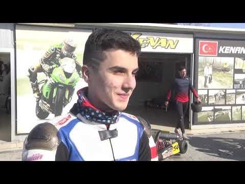 Aileden motosikletçi...   Genç SOFUOĞLU'NUN HEDEFİ ŞAMPİYONLUK!   Supersport 300