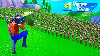 CAN YOU KILL 100 PLAYERS AT THE SAME TIME in Fortnite