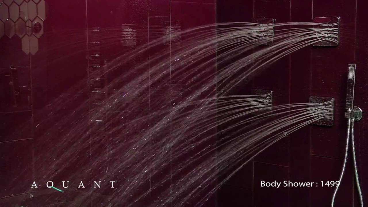 Body Jets/Body Showers - Aquant - YouTube
