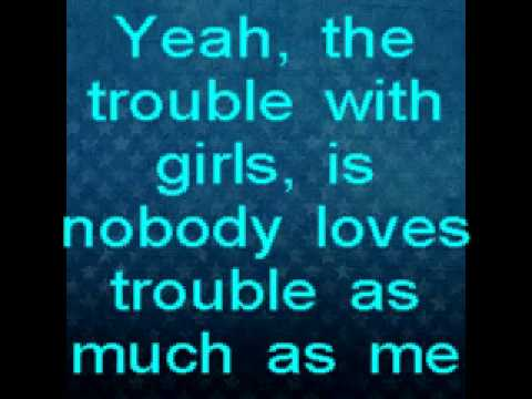 Scotty McCreery - The Trouble With Girls w/lyrics