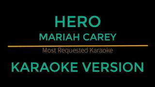 """This is karaoke/instrumental of """"hero - mariah carey"""" version.you are in the right place if you looking for lyrics carey"""", plus can..."""