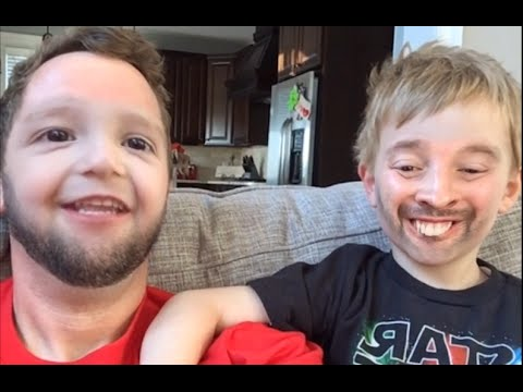 FATHER SON FACE SWAP!