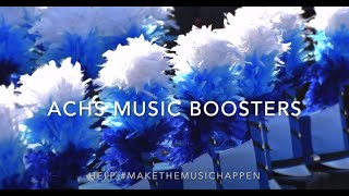 ACHS Music Boosters Help Make the Music Happen