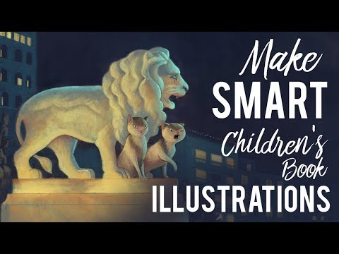 Illustrating A Children's Book · My Five Core Principles