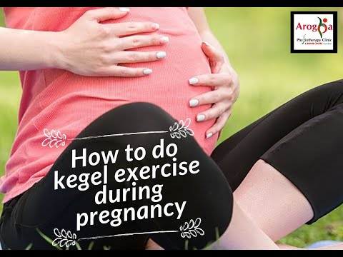 How to do Kegel Exercise during pregnancy