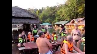 Река Квай (Kwai) Таиланд часть 1 Путешествия Мобиба (Mobiba) / Видео