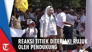 Download Video Reaksi Titiek Soeharto saat Diteriaki Massa Pendukung untuk Rujuk dengan Prabowo di Kampanye Solo MP3 3GP MP4