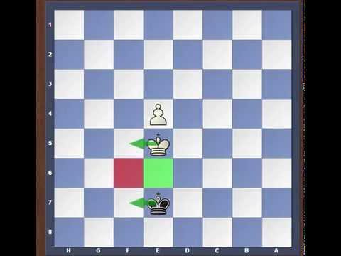 Король и пешка против Короля  Урок №2