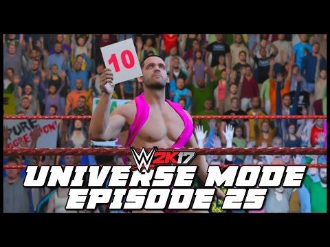 WWE 2K17   Universe Mode - 'DILLINGER IN DANGER!?'   #25