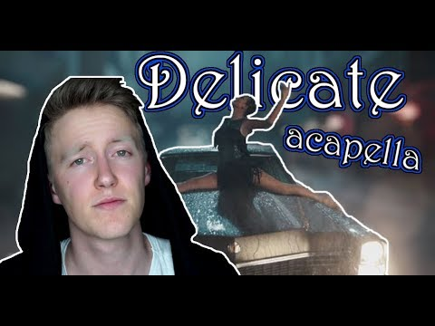1 DAY CHALLENGE - Delicate [Taylor Swift] Acapella Cover | Jonatan Moser