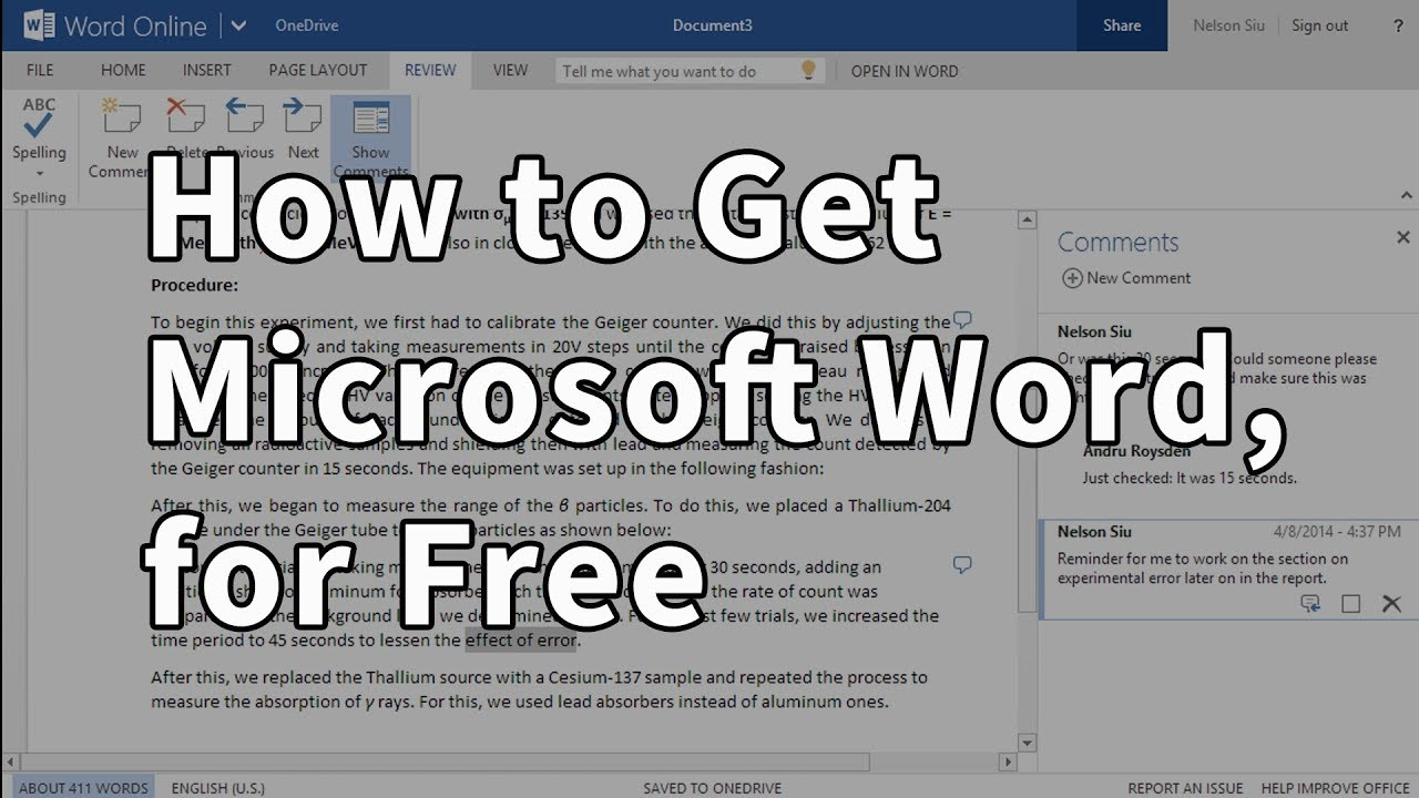 free software to read word documents