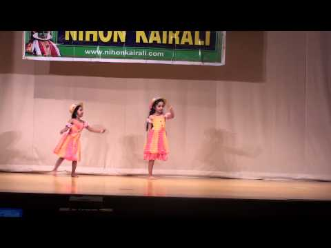 Dance by Arya and Ammu - Aalipazham Perukkaam - Introduction by Dhruv