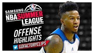 Jordan Bell 2017 Summer League Offense & Defense Highlights - Warriors Debut!