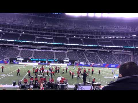 George Walton Academy Marching Bulldog Band - National Championship MetLife Stadium 11-15-14