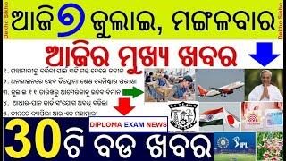 Diploma examination will be held online // Adhaar PAN linking date extended // Naveens three formula