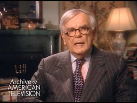"Dominick Dunne on ""Our Town"" with Frank Sinatra on ""Producers Showcase"""
