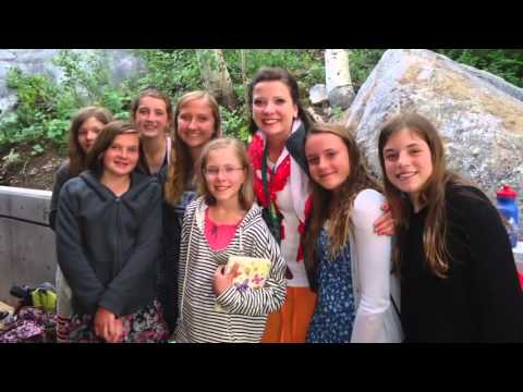 It's just a picture of Critical Girls Camp Lds