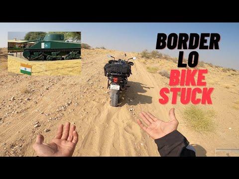 Jodhpur To Longewala | Pakistan Border | Adventure |  | Telugu Motovlogs | |Sandeep Nadimpalli |