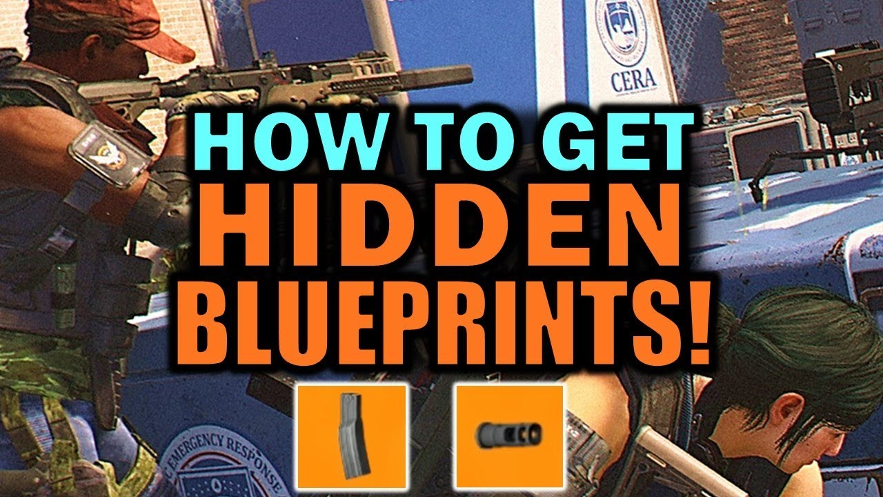 The Division 2: How to get HIDDEN Attachments & Blueprints!