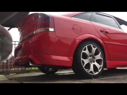 Vectra vxr start up exhaust