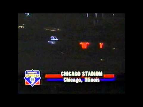 Chicago Bulls Introduction 1992 Regular Season Game vs New Jersey Nets.