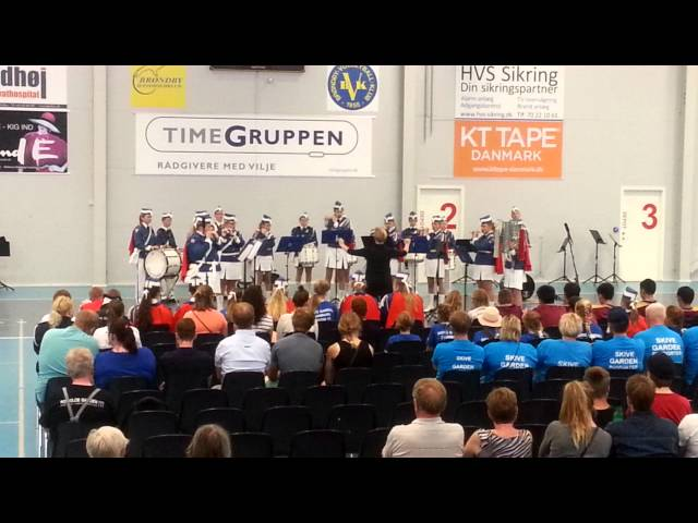 DM / VM 2015 Skive Gardens Tambourkoncert