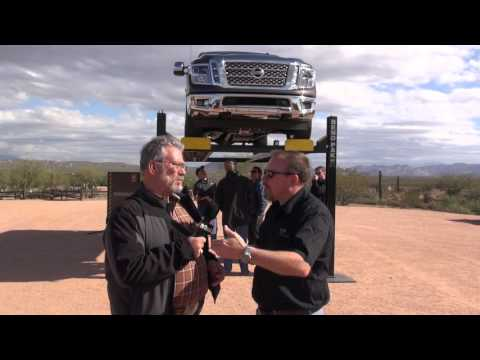 Nissan Titan XD 2016 Cummins diesel, Aisin 6-speed review from Arizona Part one