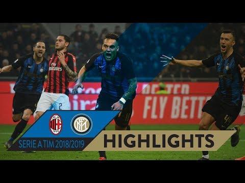 MILAN 2-3 INTER | HIGHLIGHTS | The #DerbyMilano Is Black&Blue... Again!