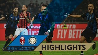 MILAN 2-3 INTER | HIGHLIGHTS | The #DerbyMilano is Black&Blue... again!