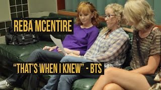 """Reba McEntire, """"That's When I Knew"""" - Behind the Scenes"""