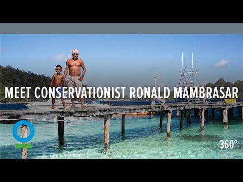 Meet Conservationist Ronald Mambrasar (360 video) | Conservation International (CI)