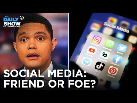 Social Media: Friend or Foe? | The Daily Show