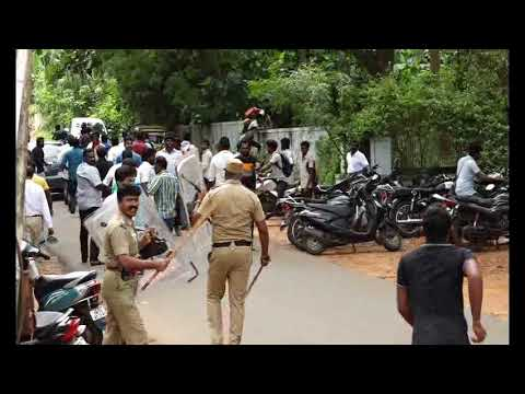 Nagercoil college gang fight